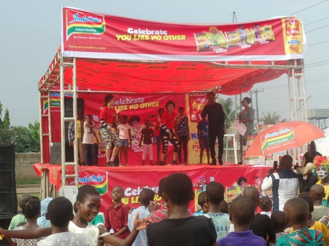 Indomie celebrates consumers like no other with neighbourhood carnival